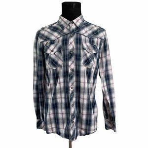 BKE Tailored Button Front Shirt XL